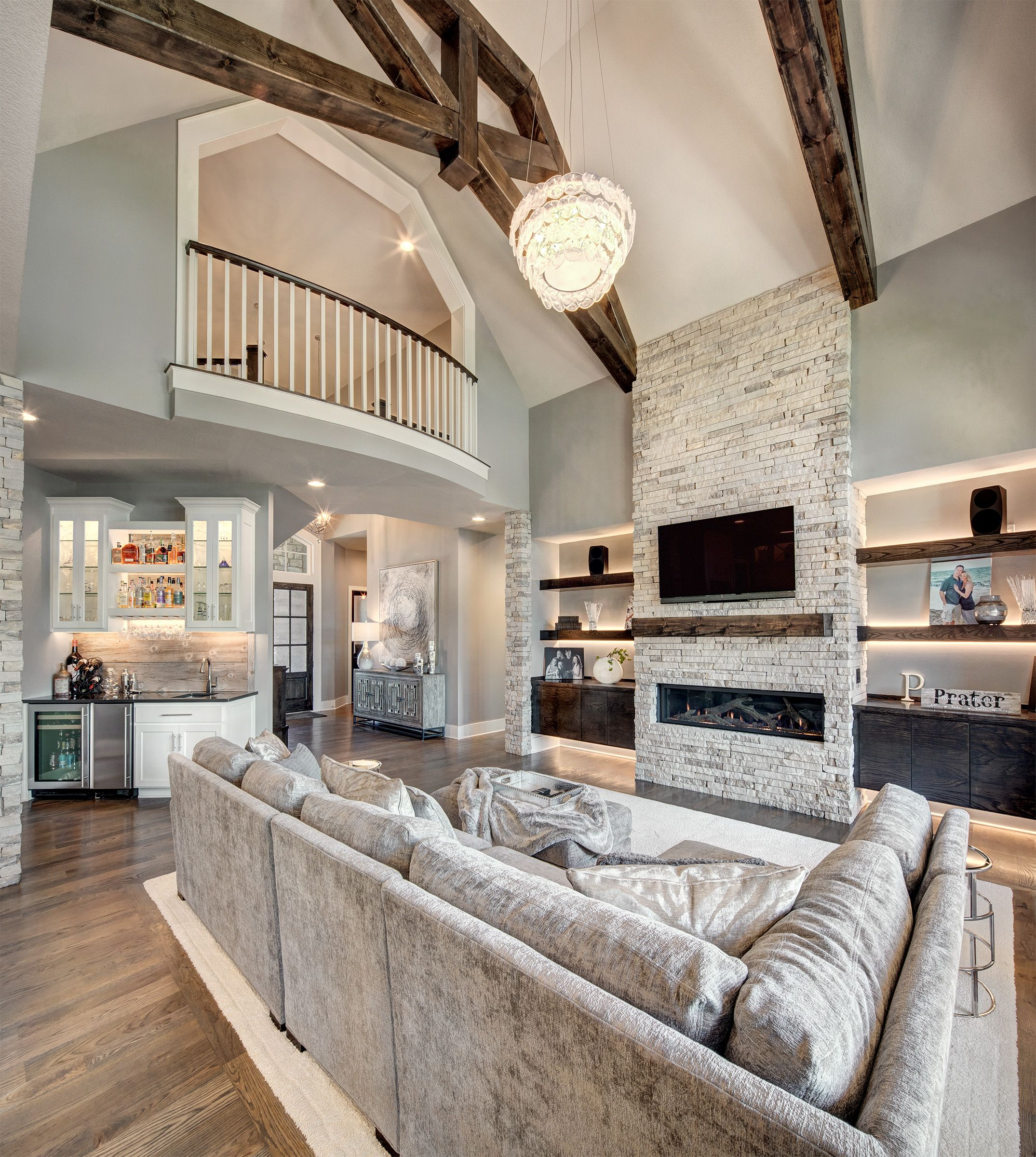 Hearth Room Tall Ceiling Living Room Hearth Room S