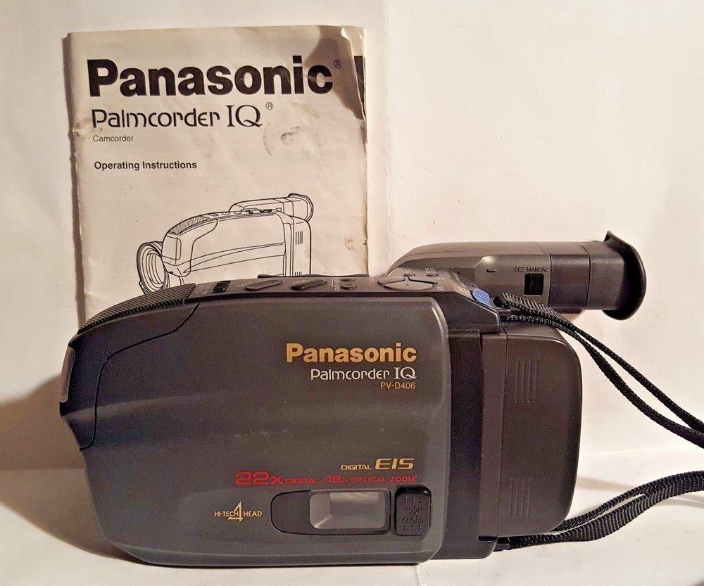 panasonic wiring harness ebay panasonic palmcorder iq pv d406 digital e15 22x optical 16x zoom w  panasonic palmcorder iq pv d406 digital