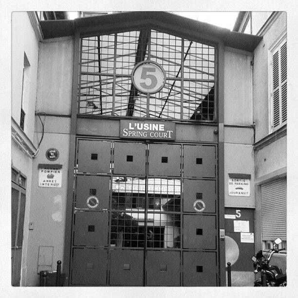 Aude On Instagram Usine Springcourt Passage Piver 75011 L Interieur Est Juste Magnifique Usine Ouvrages D Art Instagram