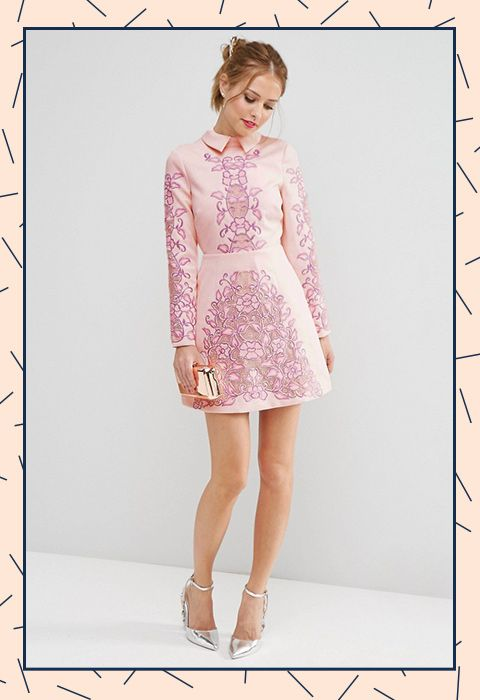 e204752543 A little 60s mini for instant best-dressed-guest status. Wear all winter