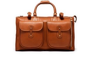 Express No. 2 Brown Leather Briefcase