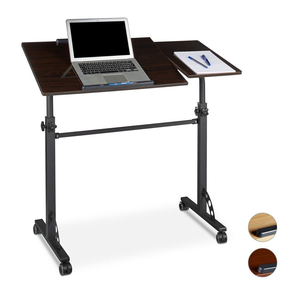 height adjustable laptop table podium lectern office rolling notebook stand ebay