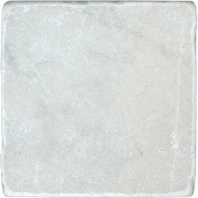 Höganäs Bianco Carrara, Antik marmor matt/tumlad 100x100x10 mm