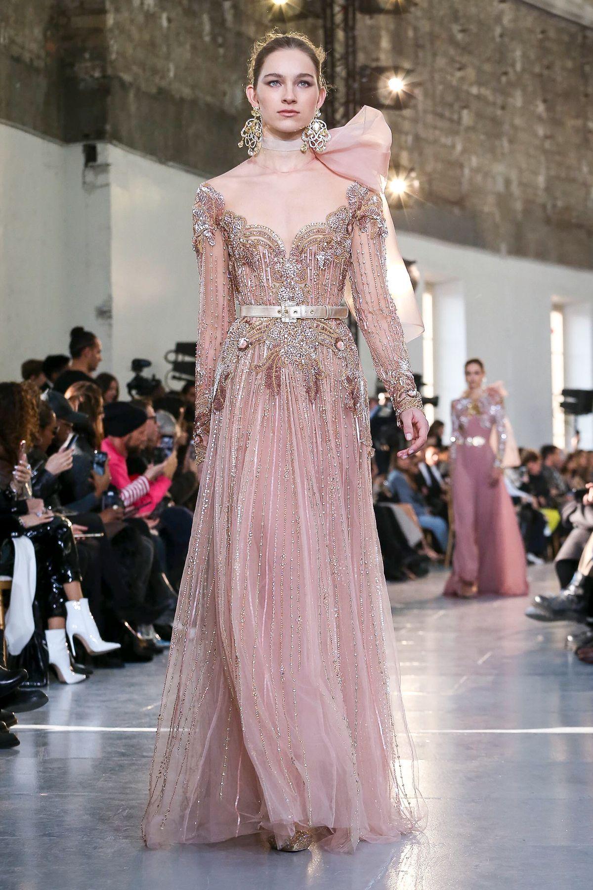 Elie Saab Haute Couture Spring Summer 18 Paris - NOWFASHION in