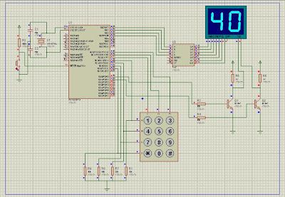 PIC 16f877a with Seven-Segment Display and keypad | all about