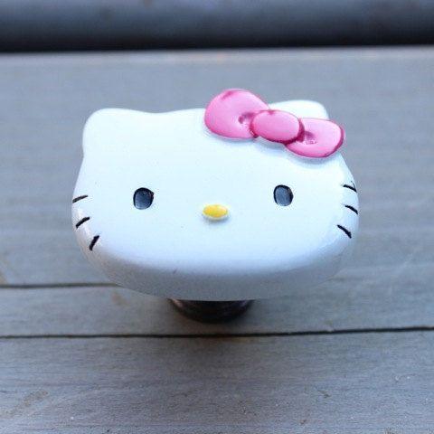 Hello Kitty Dresser Knobs