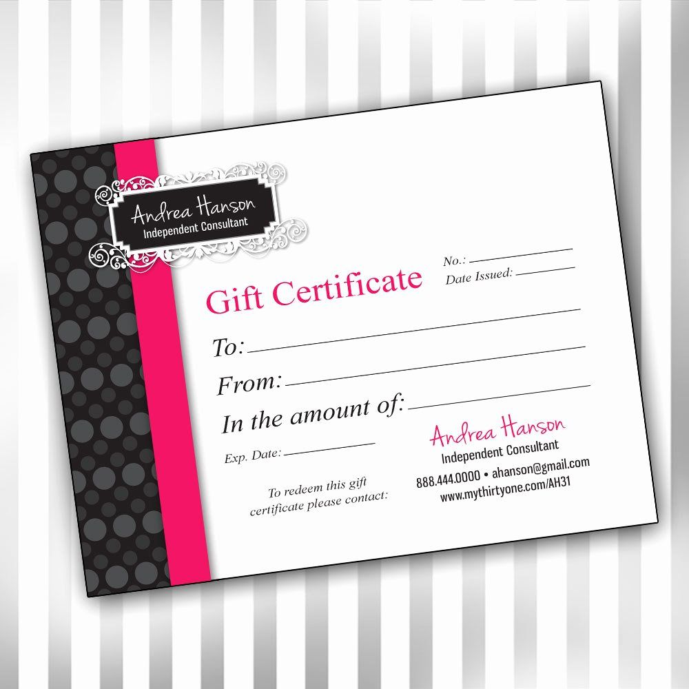 20 Pure Romance Gift Certificate Template Dannybarrantes Template Gift Certificate Template Printable Gift Certificate Gift Card Template