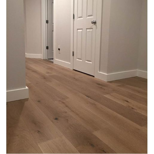 White Oak Rustic 4mm Wear Layer Engineered Prefinished Flooring