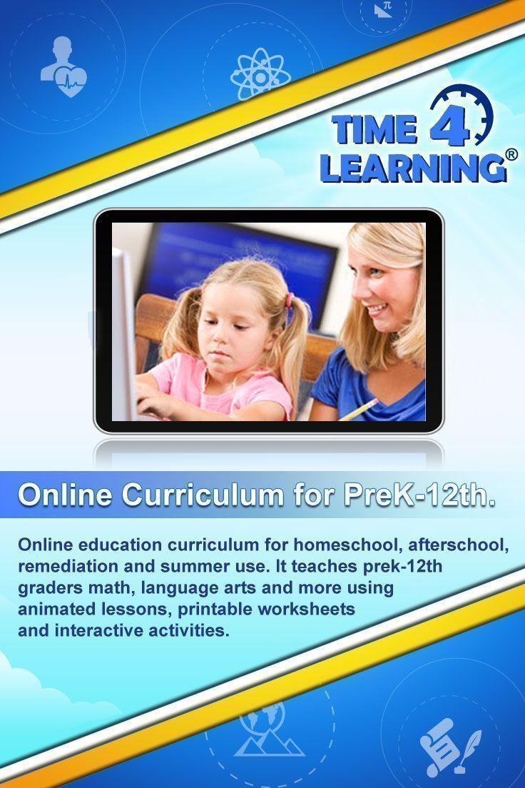 Online education program for homeschool, afterschool, remediation ...