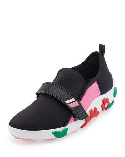 Sneakers - Neoprene Slip On Nero - black - Sneakers for ladies Prada lBqlfruD