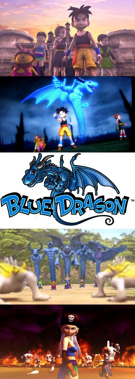 RPG Series BlueDragon comes for the creators of