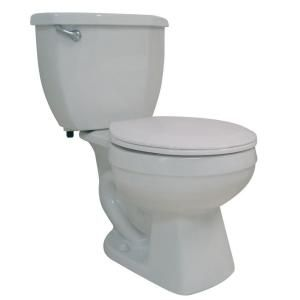 $78.00 Glacier Bay All In One 2 Piece Round Toilet In White
