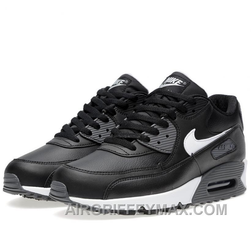Soldes La Rapidite Nike Air Max 90 Homme Essential Noir, Blanche ...