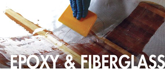 how to use fiberglass resin and cloth