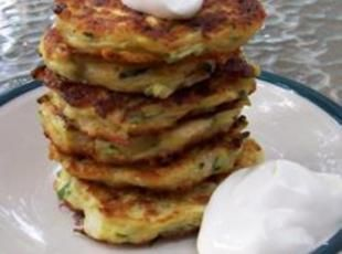 Zucchini Patties    I tried these and they are GREAT!