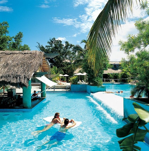 Top 10 caribbean resorts couples negril jamaica sleep for Best caribbean honeymoon resorts