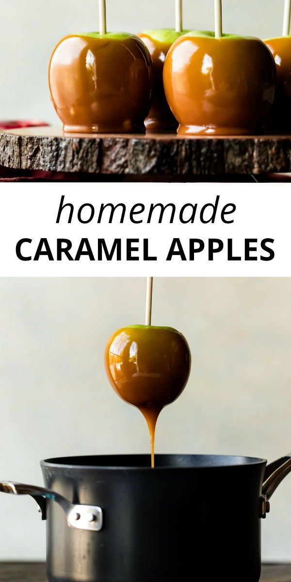 Homemade Caramel Apples | Sally's Baking Addiction
