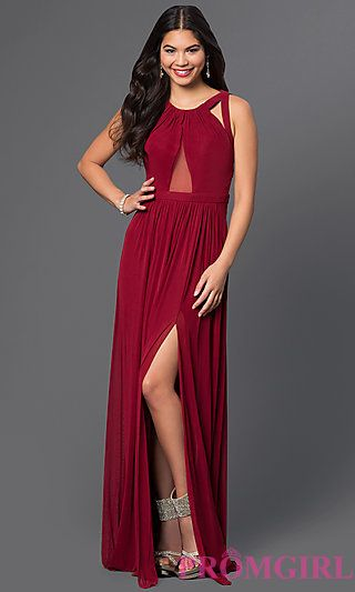 Long Open Back Abbie Vonn Prom Dress at PromGirl.com | Those threads ...