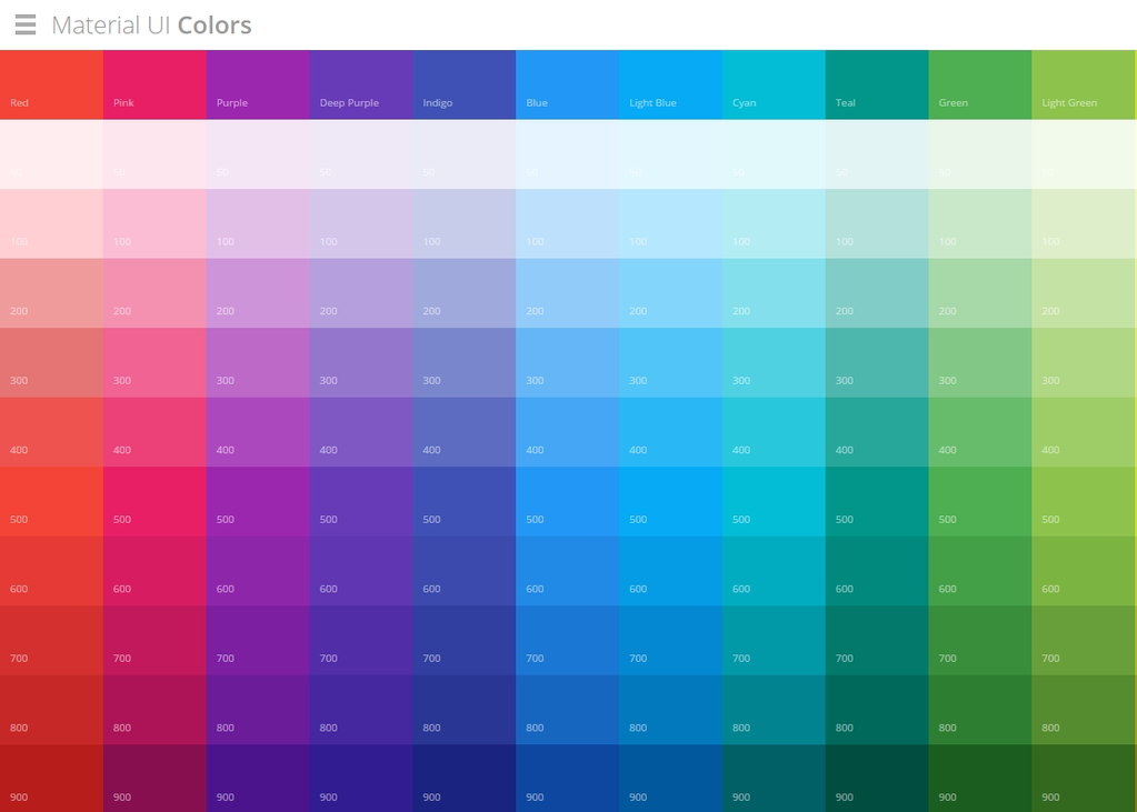 4 tools for creating brilliant material design color pallets - Color Scheme Designercom