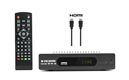 Digital Converter Box + HDMI Cable for Recording and Viewing Full HD Digital Channels for FREE (Instant or Scheduled Recording DVR 1080P HDTV ...  sc 1 st  Pinterest & Digital Converter Box + HDMI Cable for Recording and Viewing Full ... Aboutintivar.Com