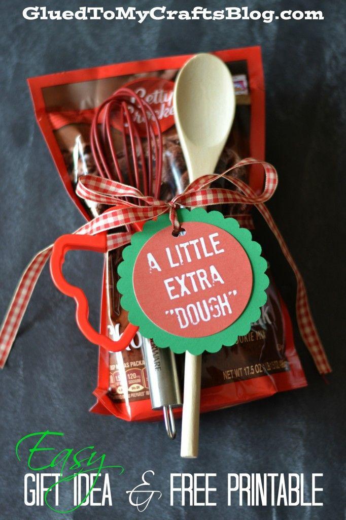 Easy Gift Idea & Free Printable - Easy Gift Idea & Free Printable DIY Christmas Gift Ideas