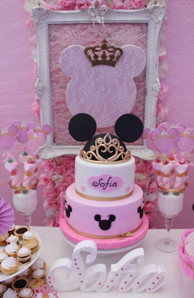 Minnie Mouse Baptism Party Ideas Baptism Party Gorgeous