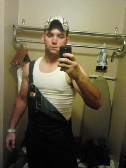 cdc2a67f09a3a Wife beater and bib overalls. Wife Beaters