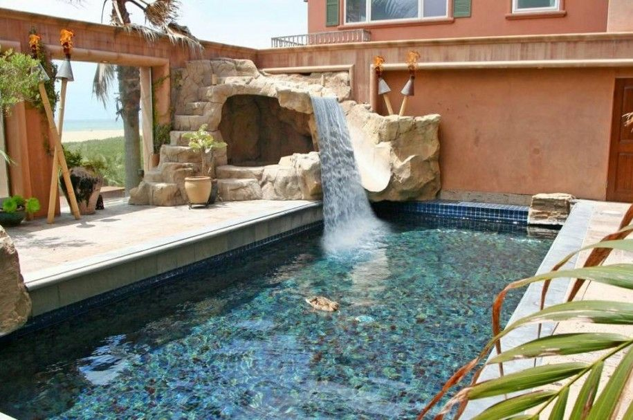House Pools With Slides marvelous home water slide: make your home as great as amusement