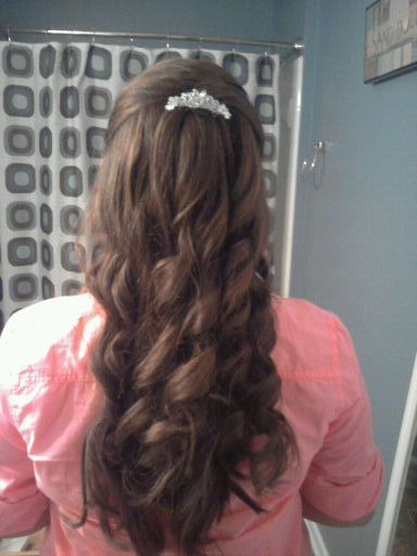 I Did My Own Prom Military Ball Hair Who Needs Expensive Hair Dressers