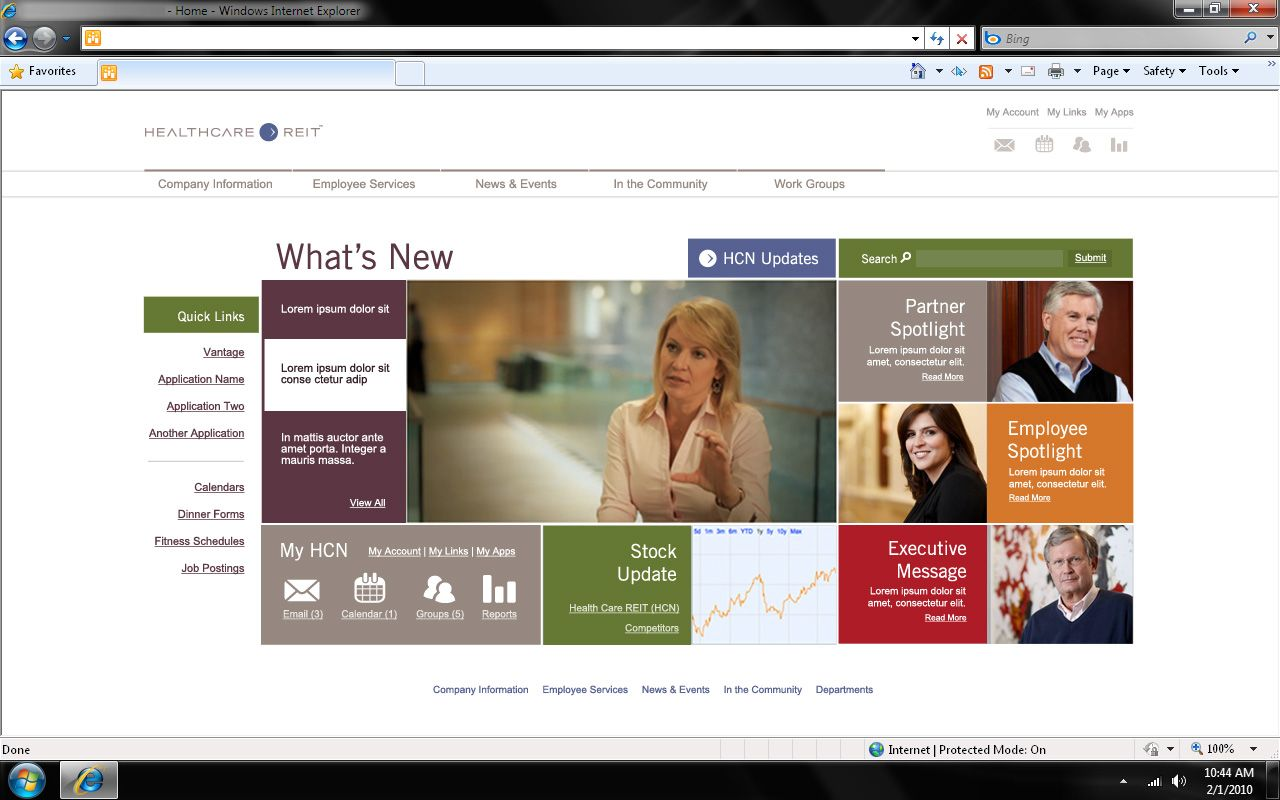 I Like The Use Of Color Intermingled With The Faces. Not As Text Heavy As ·  Sharepoint IntranetSharepoint DesignSite ...