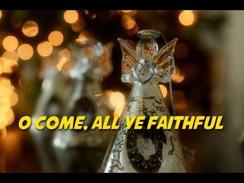 O Come, All Ye Faithful | Christmas Carols Karaoke | Christmas carol, Singing, Karaoke