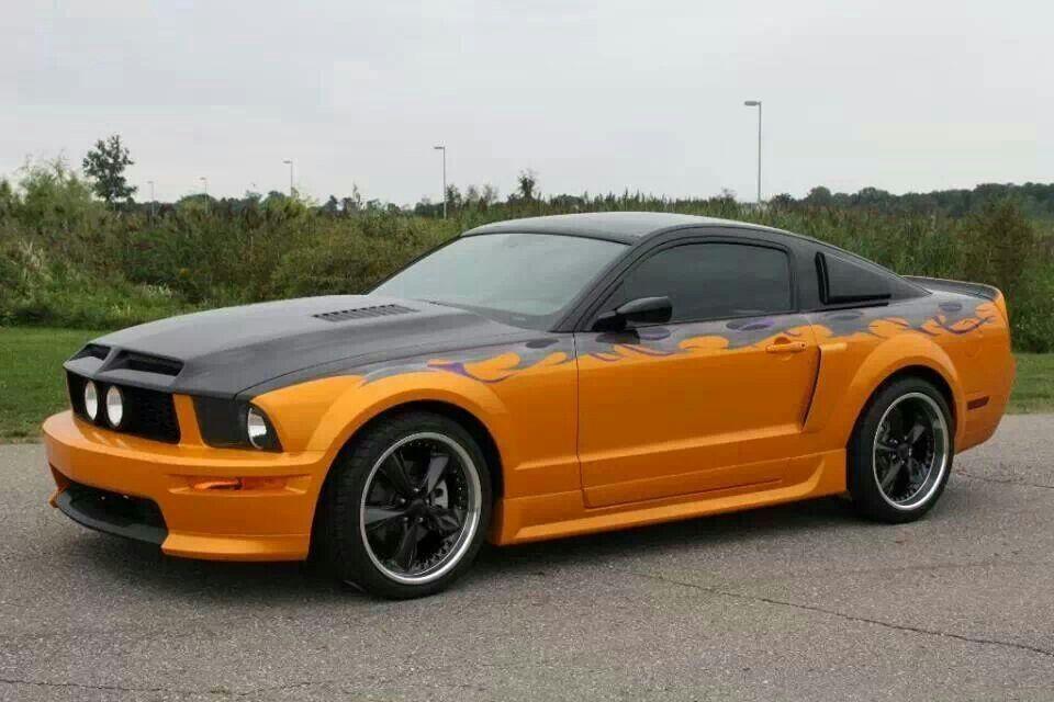 Mustang Chrome Wheels Mustang Black Chrome Wheels