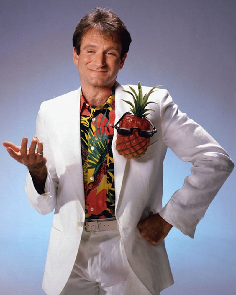 Robin Williams x fruit couture