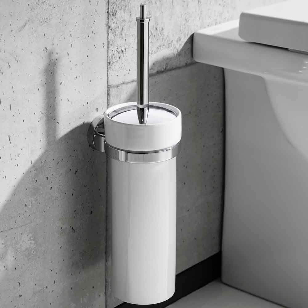 Crosswater Central Toilet Brush Holder Toilet Brush Toilet Brush Holders Brush Holder
