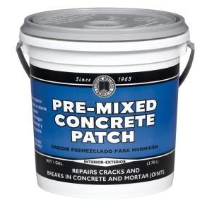 Phenopatch Pre Mixed Concrete Patch 1 Gal Gray 34617 The Home Depot Mix Concrete Concrete Broken Concrete