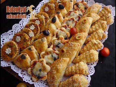 3أشكال من المملحات أو فطائربعجينة واحدة إقتصادية ولذيذة لن تستغني عنها بعد اليوم Youtube Cooking Recipes Desserts Food Receipes Finger Food Appetizers