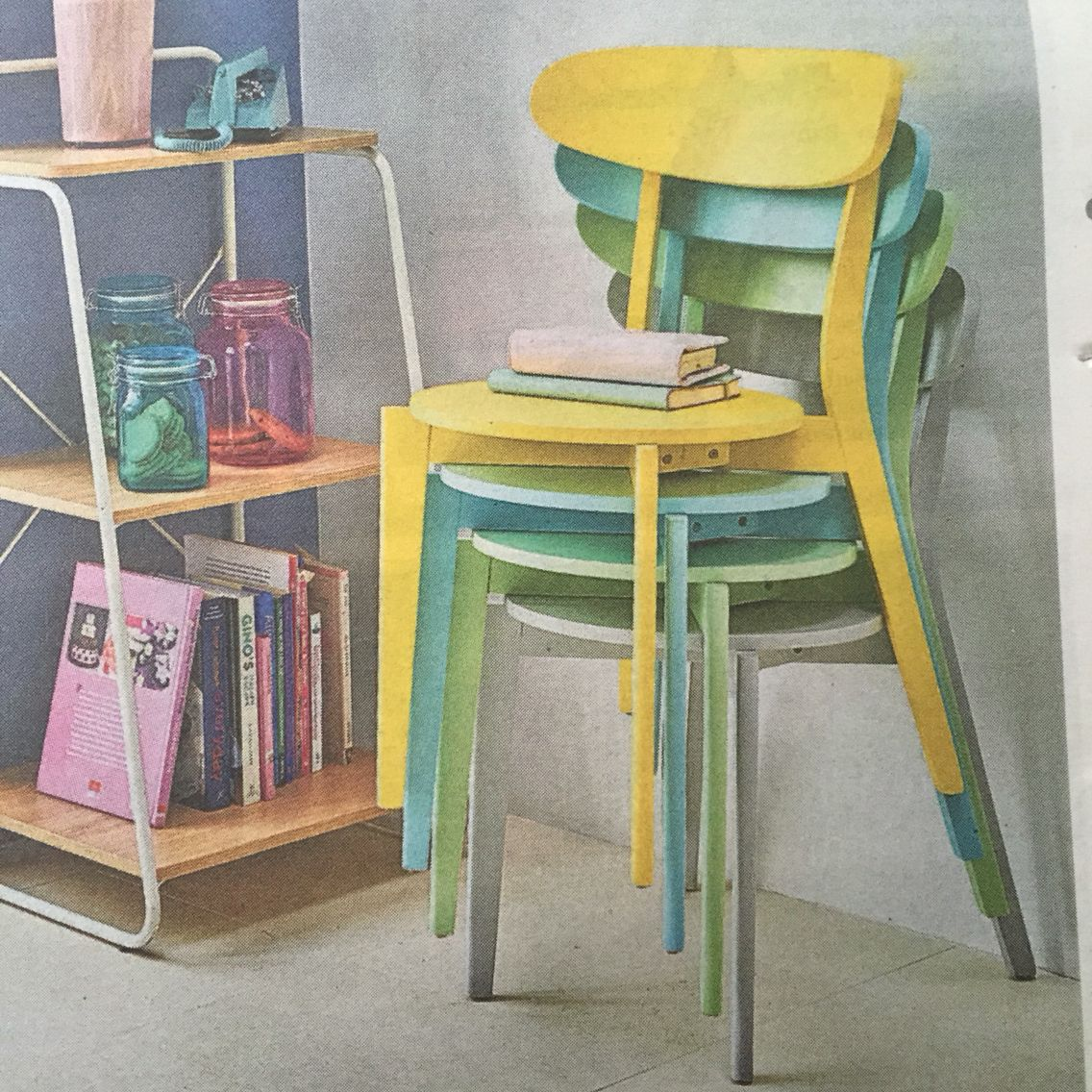 Tesco stacking chairs - £11 each (available from September 11