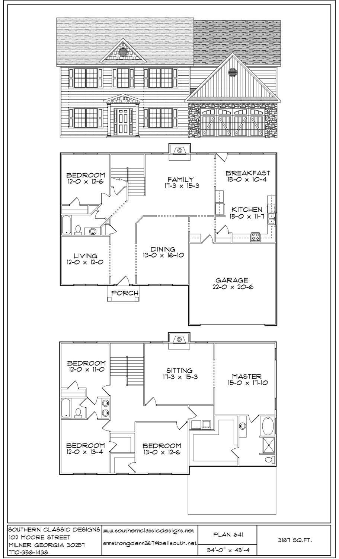 Plan 641 How To Plan Formal Living Square Feet