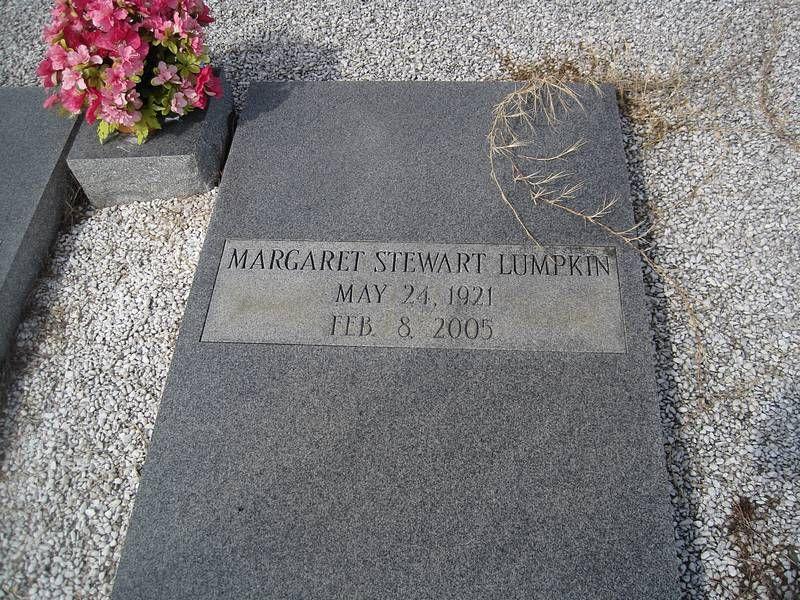 Margaret stewart lumpkin funeral services lee county