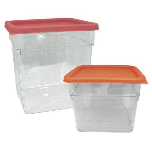 Update International 12 Qt Square Storage Container By Update International 12 39 Lid Sold Separate Storage Solutions Closet Storage Containers Lid Storage