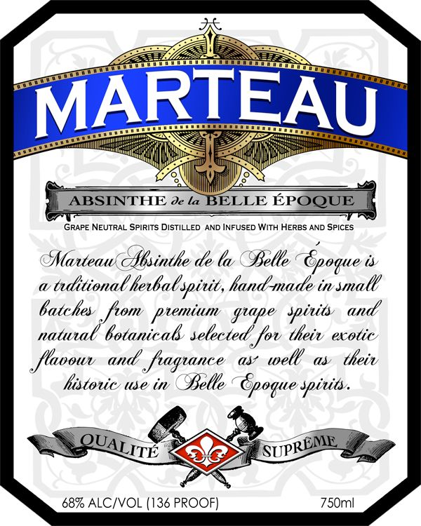 Grape Spirit, Distillation, Absinthe