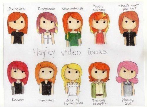 Hayley Williams Hair