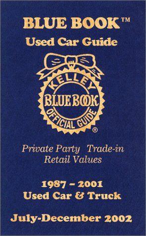 Blue Book Blue Books Car Guide Used Cars