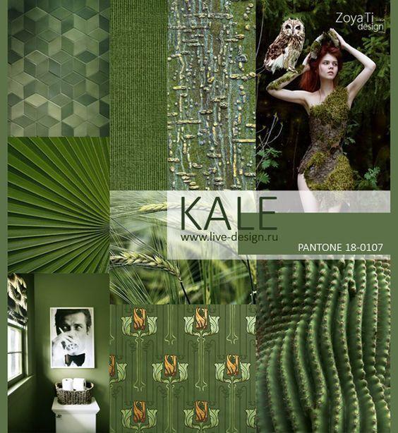 Image result for Pantone Kale
