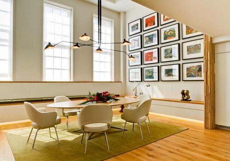 Elegant 79 Moderne Esszimmer Ideen Von Exklusiven Designhäusern Und Apartments  #apartments #designhausern #esszimmer #