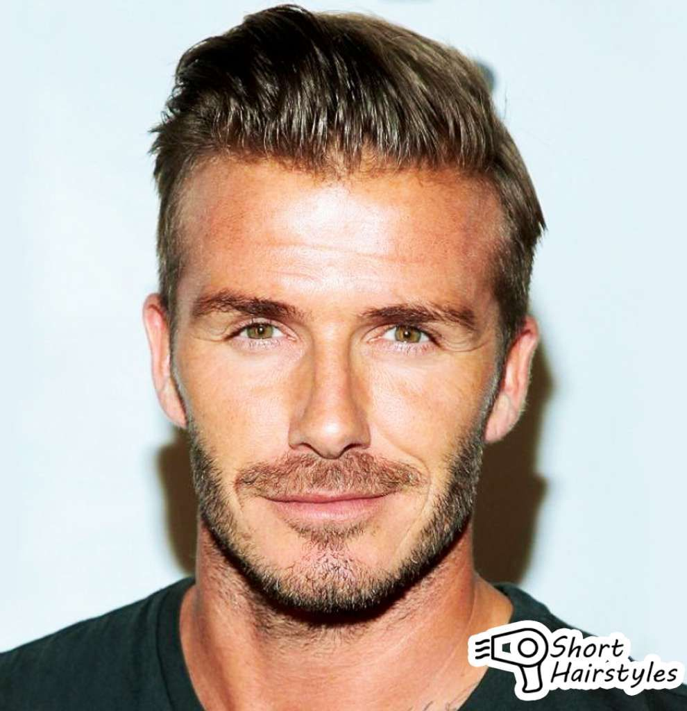 short hairstyles men with big