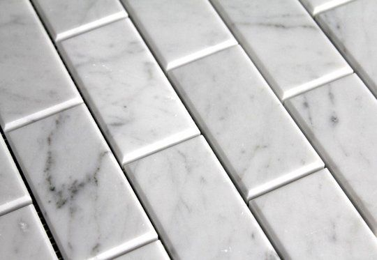 Beveled Subway Tile ⎮