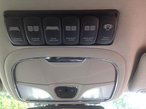 Kl Cherokee Front Light Bar And Interior Switch Install