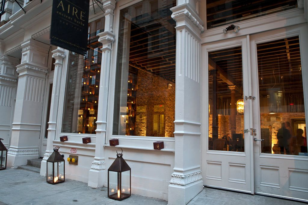 Projects COMMERCIAL Spa AIRE Ancient Baths, New York