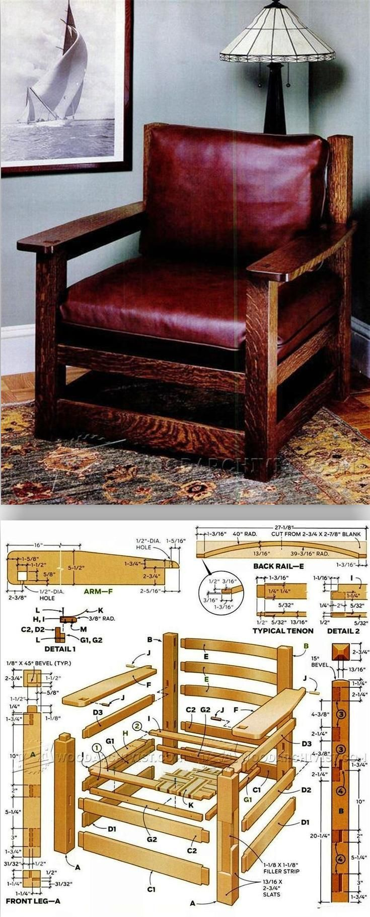 Armchair Plans Furniture And